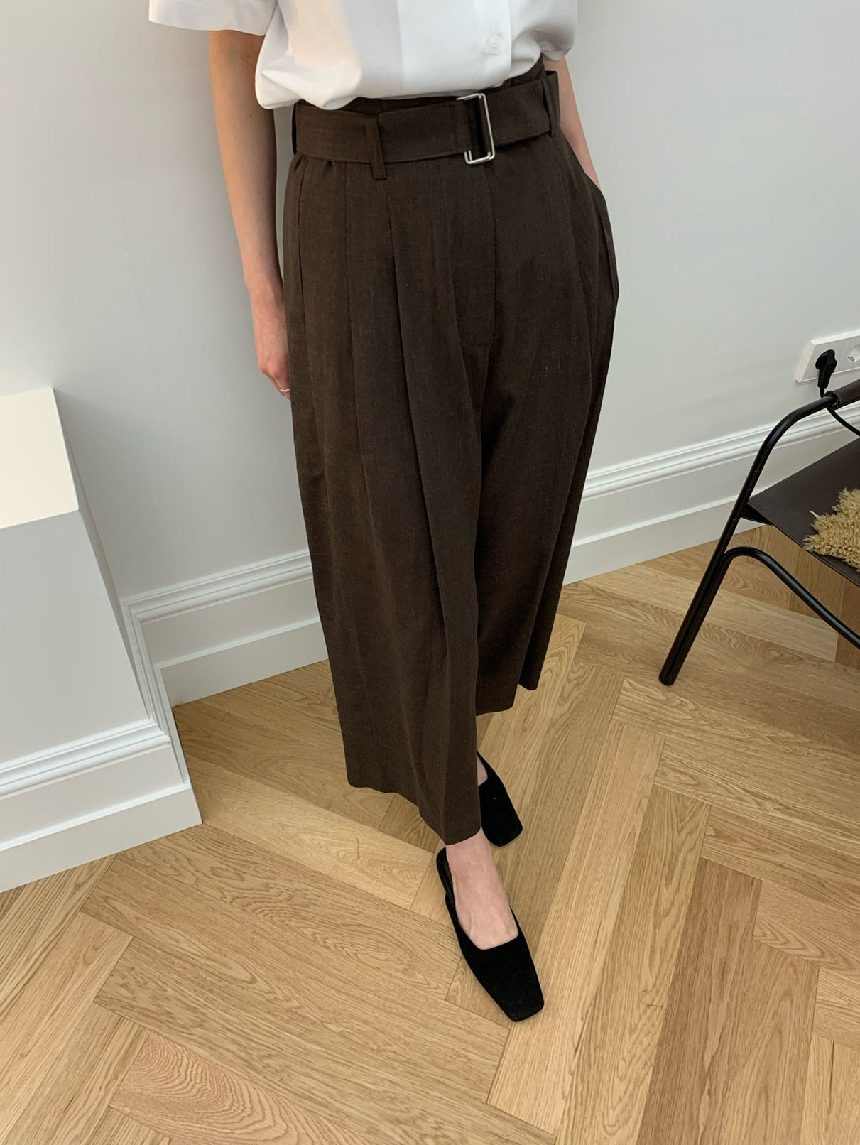 cooling pants-brown