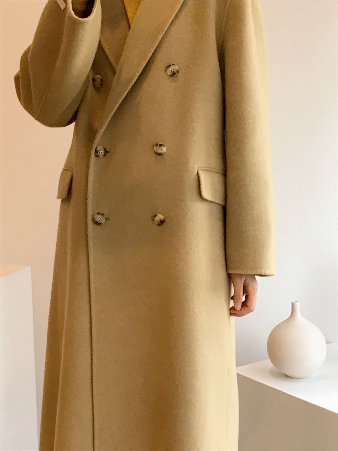 muse double handmade coat