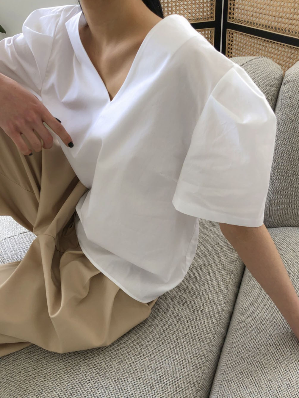 prff  blouse-white